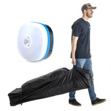 Kings 6x3m Wheeled Gazebo Bag + Mini Lantern