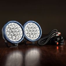 """Pair of 7"""" Domin8r X Driving Lights fitted with OSRAM LEDs 