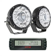 "Kings 7"" Laser Driving Lights (Pair) + Engine Data Scan (EDS) Computer"