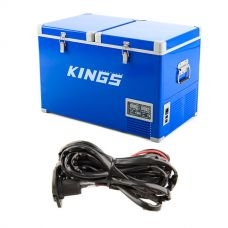 Adventure Kings 70L Camping Fridge + 12V Fridge Wiring Kit