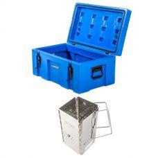 Adventure Kings 78L Tough Tool Box + Kings Charcoal Starter