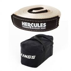 Hercules - 8000kg Snatch Strap + Adventure Kings 40L Duffle Bag