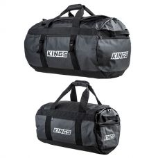 Kings 80L Extra-Large PVC Duffle Bag + 40L Large PVC Duffle Bag