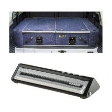 900mm Titan Rear Drawers suitable for smaller wagons + Vacuum Sealer