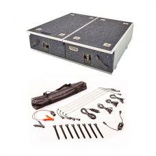 Titan Drawer System - 900mm + Illuminator 4 Bar Camp Light Kit