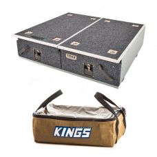 Titan Drawer System - 900mm + Adventure Kings Clear Top Canvas Bag
