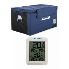Kings 90L Fridge Cover + Wireless Fridge Thermometer