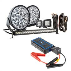 "Adventure Kings Domin8r Xtreme 9"" Ultimate LED Light Pack + Jump Starter"