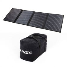 Adventure Kings 120W Solar Blanket with MPPT Regulator + Heavy-Duty Duffle Bag