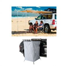 Adventure Kings Awning 2x2.5m + Instant Ensuite