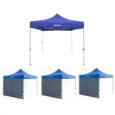 Adventure Kings - Gazebo 3m x 3m + 3x Adventure Kings Gazebo Side Wall
