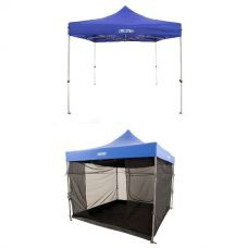 Adventure Kings - Gazebo 3m x 3m + Gazebo Mosquito Net