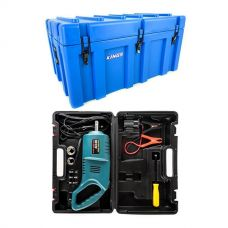 Adventure Kings 156L Storage Box + Hercules 12V Impact Wrench