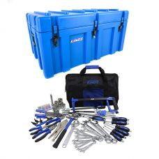 Adventure Kings 156L Storage Box + Tool Kit - Ultimate Bush Mechanic