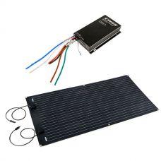Adventure Kings 160W Semi-Flexible Solar Panel + Adventure Kings MPPT Regulator