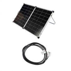 Kings Premium 160w Solar Panel with MPPT Regulator + 10m Lead For Solar Panel Extension
