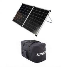 Kings Premium 160w Solar Panel with MPPT Regulator +  40L Duffle Bag