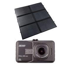 Adventure Kings 200W Portable Solar Blanket + Dash Camera