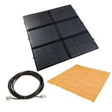 Adventure Kings 200W Portable Solar Blanket + Mesh Flooring 3m x 3m + 10m Lead For Solar Panel Extension