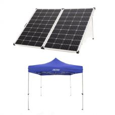 Adventure Kings 250w Solar Panel + Adventure Kings - Gazebo 3m x 3m