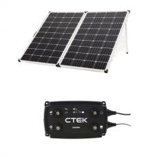 Adventure Kings 250w Solar Panel + CTEK D250SE DC/DC 20A Dual Battery System