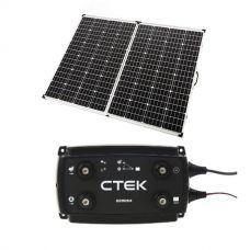 Adventure Kings 250w Solar Panel + CTEK D250SA DC/DC 20A Dual Battery System/Solar Controller