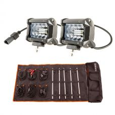 "Adventure Kings 4"" LED Light Bar + Complete 5 Bar Camp Light Kit"