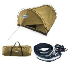 Adventure Kings 'Big Daddy' Deluxe Double Swag + Swag Canvas Bag + Illuminator MAX LED Strip Light