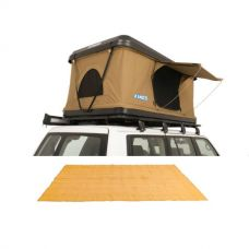 Kings Kwiky MKII Hard Shell Rooftop Tent + Mesh Flooring 5m x 2.5m