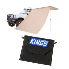 Adventure Kings Awning Side Wall + Adventure Kings 10W Portable Solar Kit
