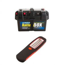 Adventure Kings Battery Box + Illuminator 24 LED Work Light