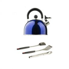 Adventure Kings BBQ Tool Set + Camping Kettle