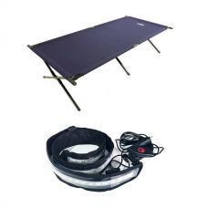 Adventure Kings Camping Stretcher Bed + Illuminator MAX LED Strip Light