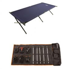 Adventure Kings Complete 5 Bar Camp Light Kit + Adventure Kings Camping Stretcher Bed