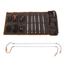 Adventure Kings Complete 5 Bar Camp Light Kit + Orange LED Camp Light Extension Kit