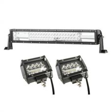 "Adventure Kings Domin8r 22"" LED Light Bar + 4"" LED Light Bar"