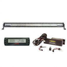 "Adventure Kings Domin8r 42"" LED Light Bar + Bar Wiring Harness + Engine Data Scan Computer"