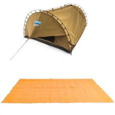 Adventure Kings Double Swag Big Daddy Deluxe + Adventure Kings - Mesh Flooring 5m x 2.5m