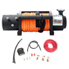 Adventure Kings Dual Battery System + Domin8r X 12,000lb Winch with rope
