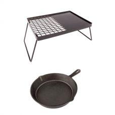 Adventure Kings Essential BBQ Plate + Skillet Pan