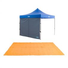 Adventure Kings Gazebo Side Wall + Adventure Kings Mesh Flooring 5m x 2.5m