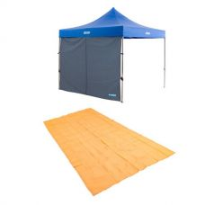 Adventure Kings Gazebo Side Wall + Adventure Kings Mesh Flooring 6m x 3m