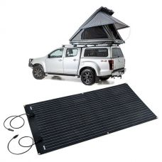 Grand Tourer MKII Aluminium Rooftop Tent + Adventure Kings 160W Semi-Flexible Solar Panel