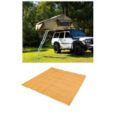 Adventure Kings Roof Top Tent + Mesh Flooring 3m x 3m