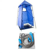 Adventure Kings Shower Tent + Adventure Kings Portable Shower Kit