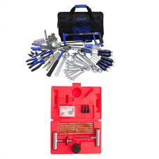Adventure Kings Tool Kit - Ultimate Bush Mechanic + Hercules Tyre Repair Kit