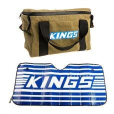 Adventure Kings Canvas Thumper Bag + Sunshade