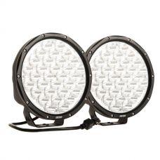 "Kings 9"" LED Driving Lights (pair) | 11 874 Lumens Per Pair | IP68 Rating | 1 lux at 791m"