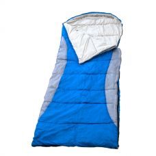 Kings Hooded Sleeping Bag | Rated to -2° | Left-Hand Zipper | Machine Washable