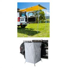Adventure Kings Rear Awning 1.4 x 2m + Instant Ensuite